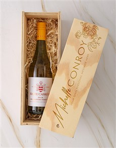 gifts: Personalised Haute Cabriere Rose Crate!