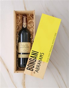 gifts: Personalised Modern Springfield Sauv Blanc Crate!