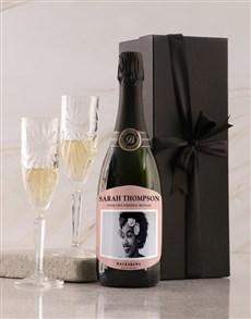 gifts: Personalised Pink Label Backsberg Wine!