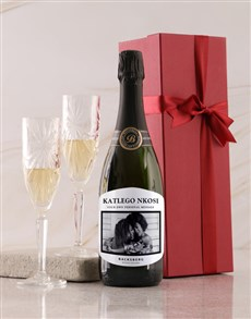 gifts: Personalised White Label Backsberg Wine!