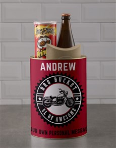 gifts: Personalised Wild Thing Bro Bucket!