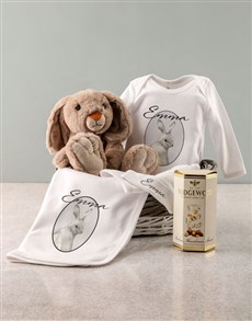 gifts: Personalised Bunny Baby Clothing Set!
