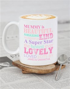 gifts: Personalised Mummy Mug!