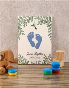 gifts: Personalised Jungle Fever Baby Canvas!
