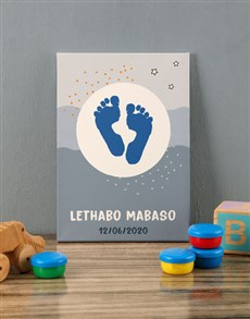 gifts: Personalised Desire Baby Canvas!