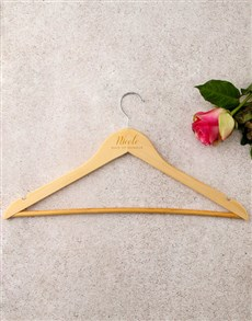 gifts: Personalised Maid Of Honour Hanger!