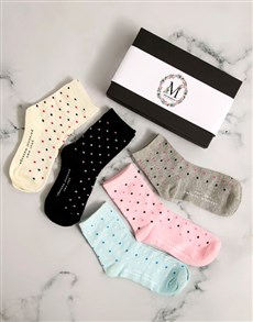 gifts: Personalised Mothers Day Sock Pack!