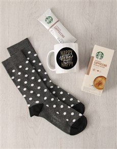 gifts: Personalised Happy Fathers Day Sock Hamper!