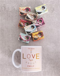 gifts: Personalised Things I Love Mug !