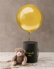 gifts: Personalised Congrats Black Box!