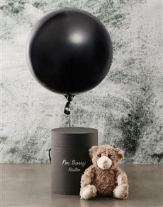 gifts: Personalised Sorry Black Box!