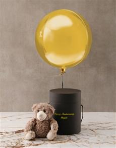 gifts: Personalised Anniversary Black Box!