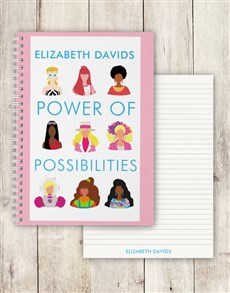 gifts: Personalised Possibilities Barbie Notebook!
