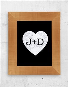 gifts: Personalised Family Heart Frame!