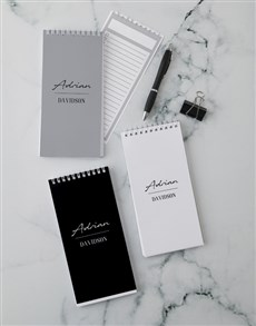 gifts: Personalised Sophisticated Signature Note Set!
