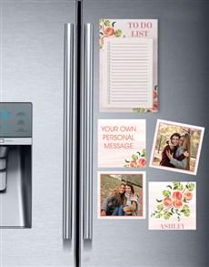 gifts: Peachy Fridge Magnet Set!
