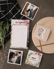 gifts: Floral Fridge Magnet Set!