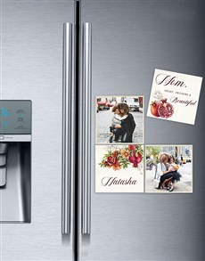 gifts: Personalised Smart And Beautiful Photo Magnets!