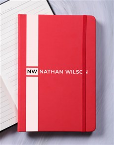 gifts: Personalised Sporty Hardcover Journal!