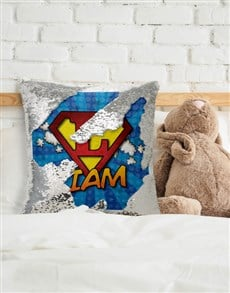 gifts: Personalised Super Sequin Cushion!