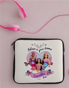 gifts: Personalised Barbie Dreams Kids Tablet Cover!
