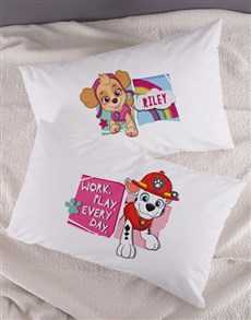 gifts: Personalised Work Play Every Day Kids Pillow Set!