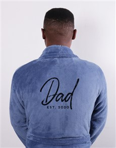gifts: Personalised Dad Since Blue Gown!