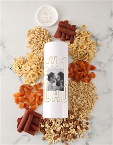 gifts: Personalised Fathers Day Fruit And Nut Tube!
