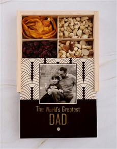 gifts: Personalised Fathers Day Fruit And Nut Crate!