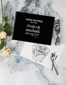 gifts: Personalised Creative Intelligence Sketch Book !