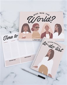 gifts: Personalised What You Got Desk Set!
