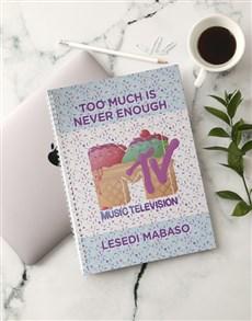 gifts: Personalised Ice Cream Sundae MTV Notebook!