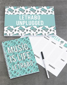 gifts: Personalised Chill MTV Desk Set!