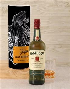 gifts: Personalised Jameson Whiskey Kraken Tube!