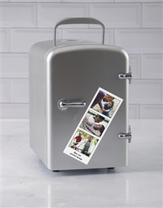 gifts: Personalised Silver Photo Booth Desk Fridge!