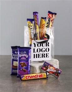 gifts: Own Logo Choc Treat Bag!