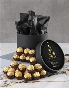 gifts: Personalised Christmas Ferrero Rocher Hatbox!