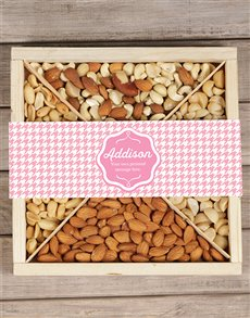 gifts: Personalised Pink Nut Tray!