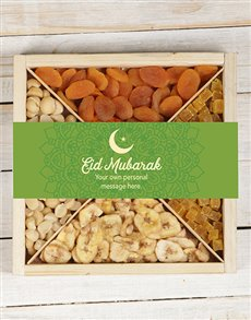 gifts: Personalised Eid Fruit and Nut Tray!