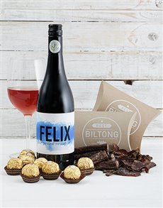 gifts: Personalised Gourmet For Him Hamper!