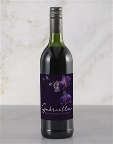 gifts: Personalised Orchid Rietvallei Wine!