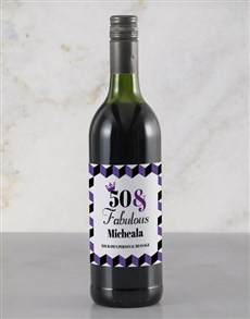 gifts: Personalised Fabulous Rietvallei Wine!