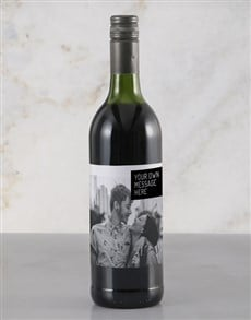 gifts: Personalised Fun Photo Rietvallei Wine!