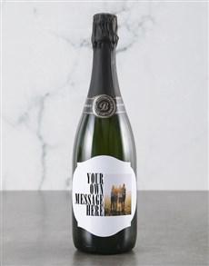 gifts: Personalised Modern Photo Backsberg Wine!