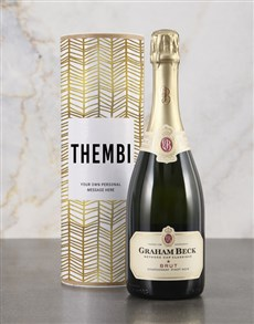 gifts: Personalised Refined Gold Bubbly Tube!
