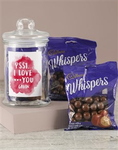 gifts: Personalised Whispers Love Jar!