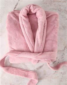 gifts: Personalised Pink Gown and Pamper Set!