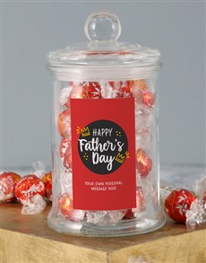 gifts: Personalised Fathers Day Candy Jar!