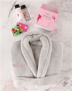 gifts: Personalised Kids Name in Pink Bath Time Set!