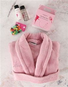 gifts: Personalised Kids Pink Bath Time Set!
